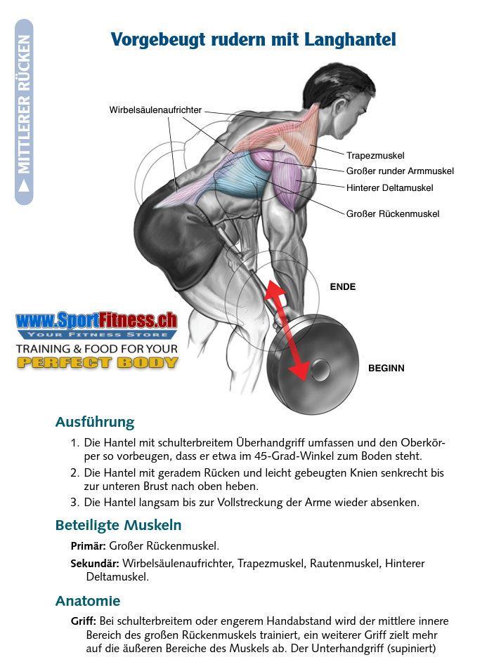 SportFitness 5 beste Muskelaufbauende Rückenübungen!